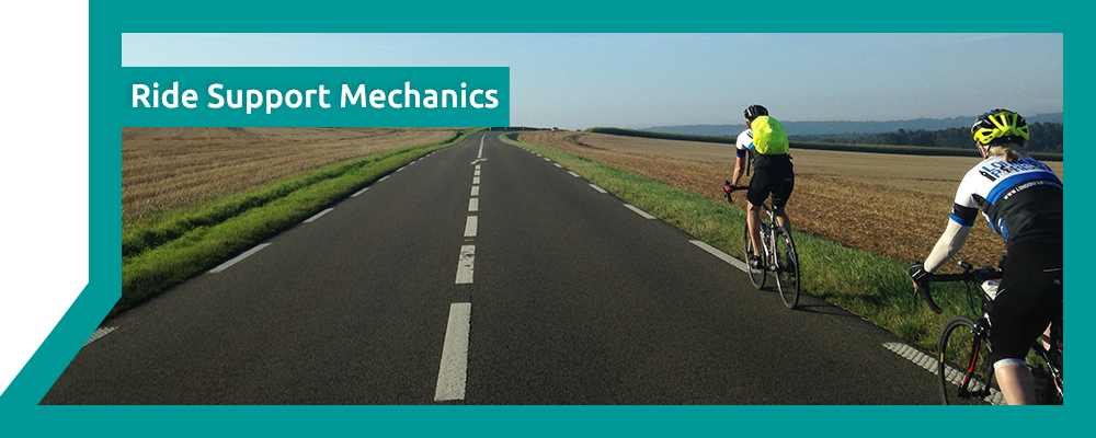 Ride Support Mechanics - Velo City Cycling - London - Mobile Bike Servicing and Repairs